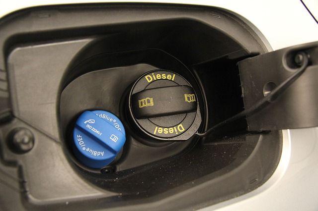 Dieseltank mit AdBlue.