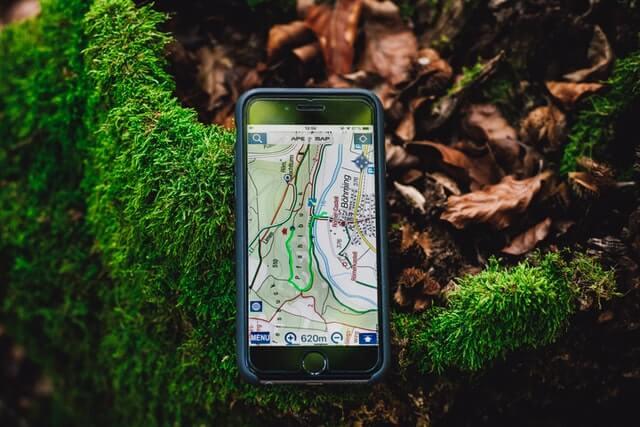 Handy mit GPS Ortung