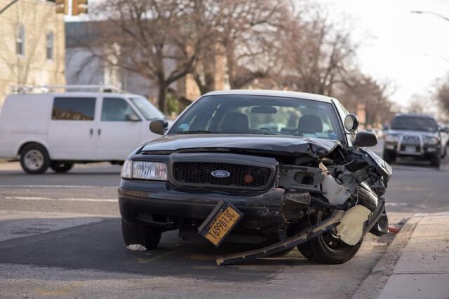 ein Autounfall