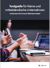 das Titelbild für das eBook Toolguide für KMU