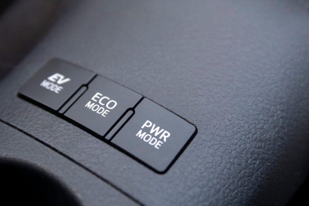 ECO Anzeige im Fahrzeug