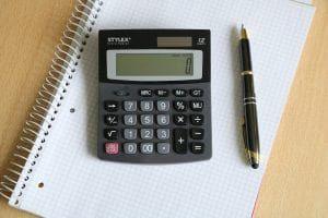 Taschenrechner zur Berechnung der Arbeitstage für die Entfernungspauschale