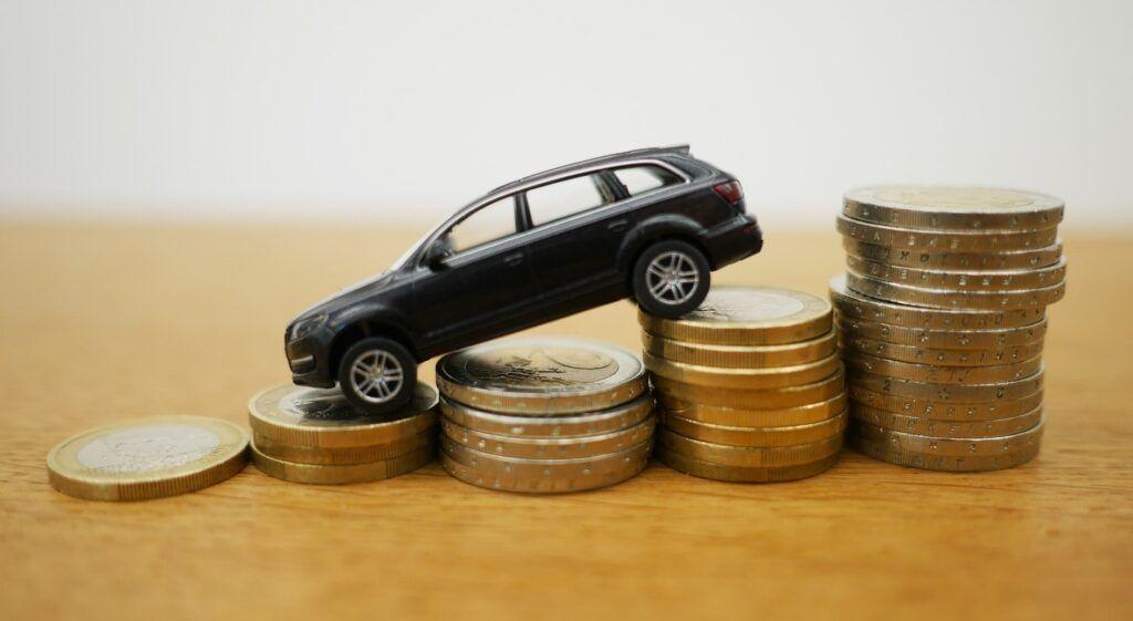 Ein Auto wird finanziert