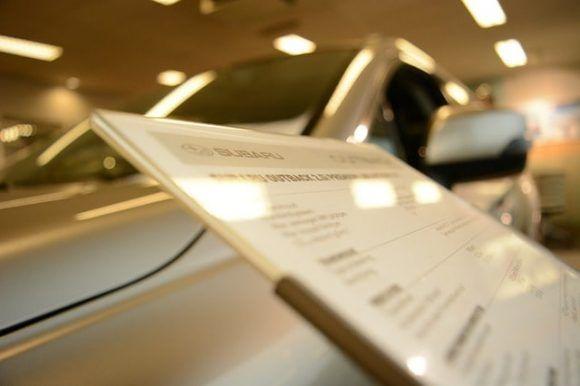 eine Vollmacht zur Fahrzeugabholung für einen Neuwagen