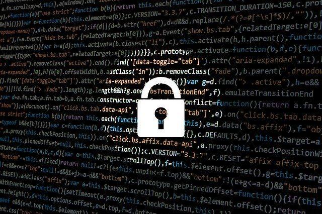 Datenschutz Zeichen