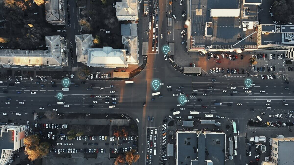 GPS Tracker ortet Autos