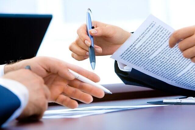 Dienstwagenüberlassungsvertrag Unterzeichnung