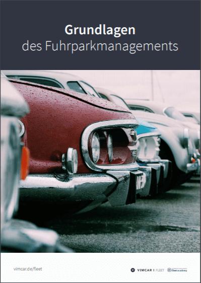 Deckblatt eBook Fuhrparkmanagement