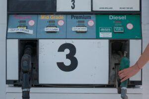 Zapfsäulen für Benzin