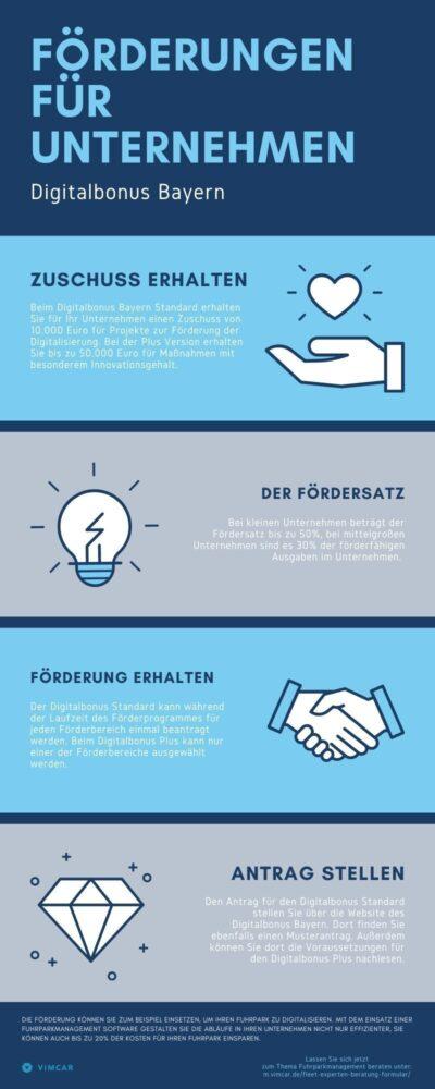 Infografik Digital Bayern