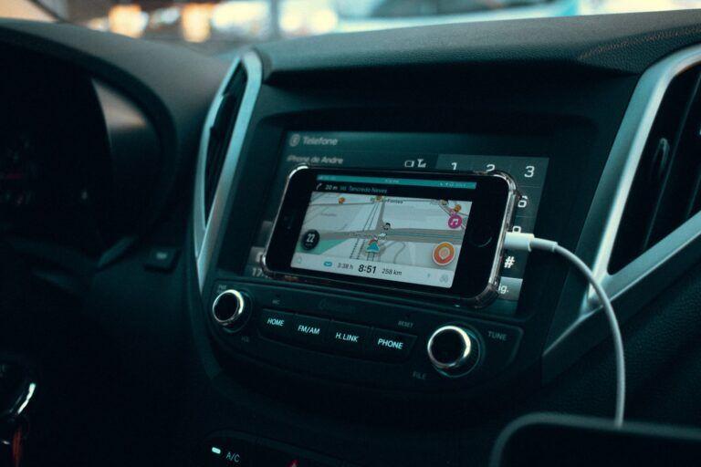 GPS Modem im Fahrzeug