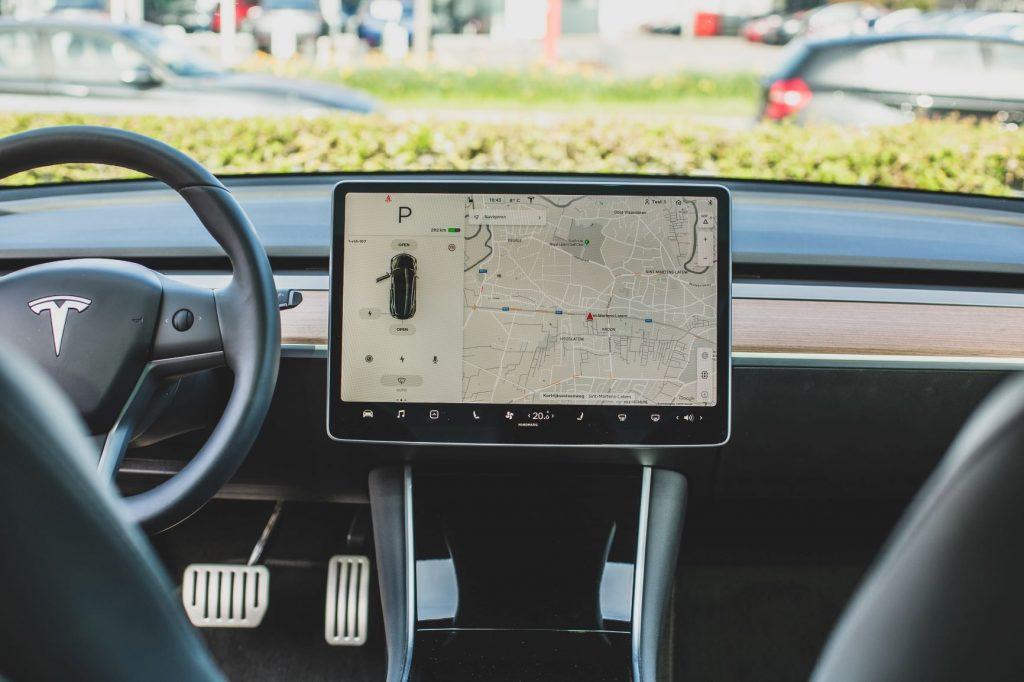 GPS im Tesla