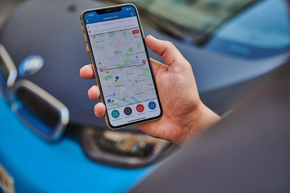 Vimcar Fahrtenbuch App