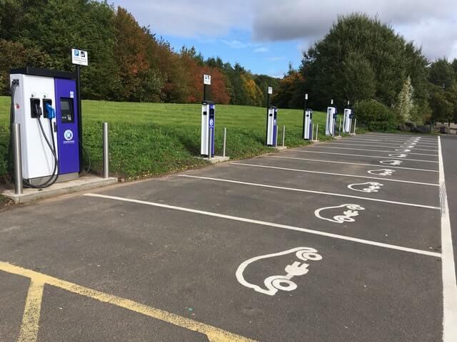 Fuhrpark Elektroautos