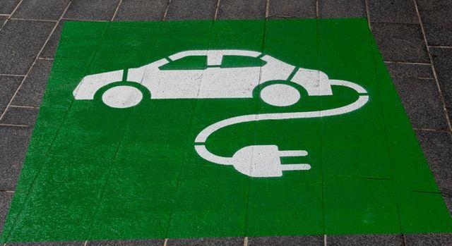 Pictogramm Elektroauto