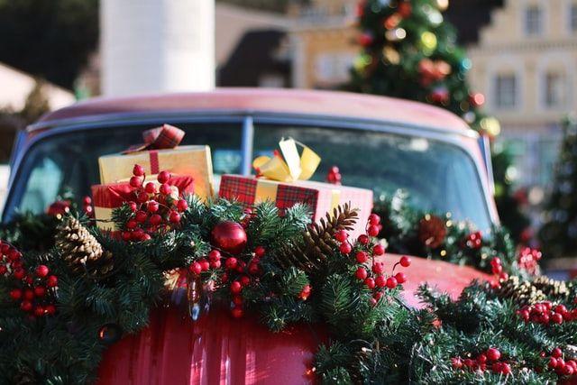 Lieferdienst Weihnachten