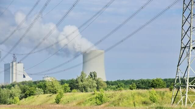 CO2 Emissionen Kraftwerk