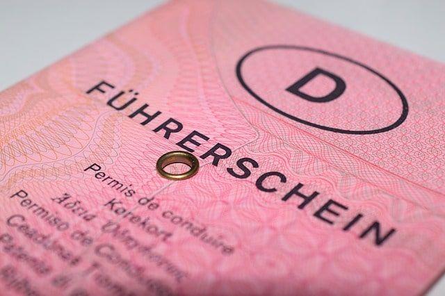 Abbildung eines Führerscheins.