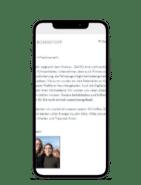 Boxenstopp Newsletter auf Smartphone geöffnet