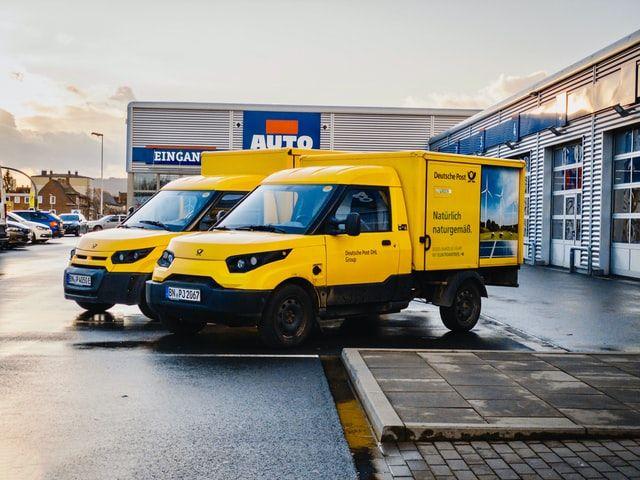 Lieferwagen Dienstleistungsbranche