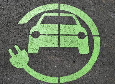 Elektroauto Zeichen