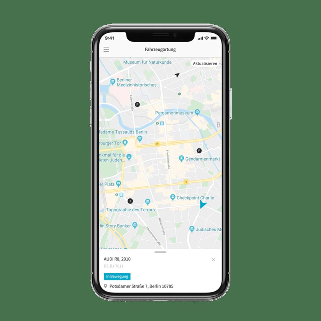 Routenplanung per App