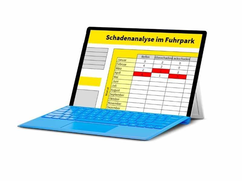 Schadenmanagement Excel Vorlage