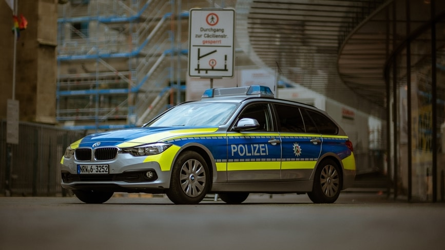 Kontrolle Polizei BAG