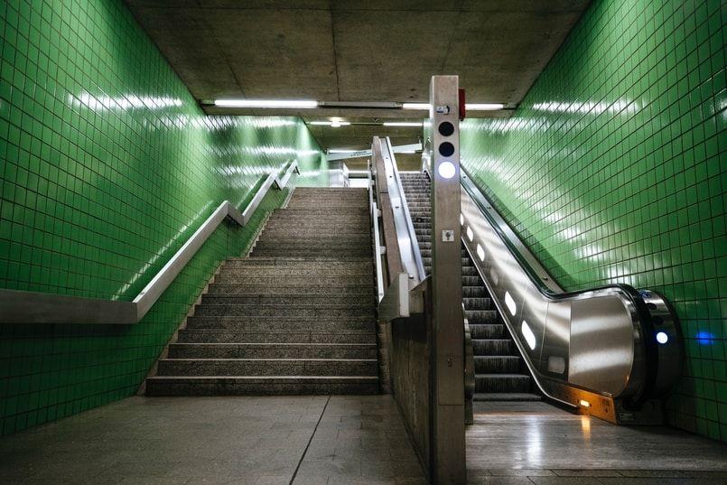 Ubahn Treppen