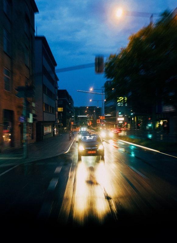 Pkw bei Nacht