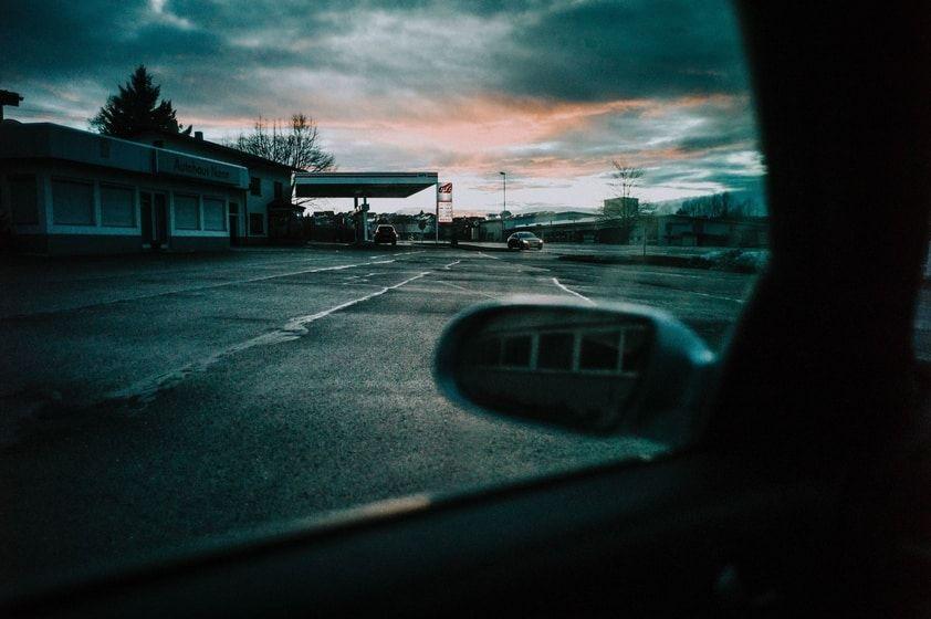 Tankstelle Anfahrt